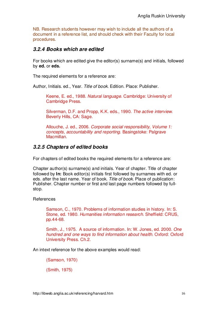 how to reference ebook harvard